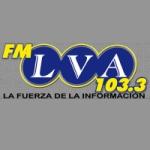 Logo da emissora Radio LVA 103.3 FM
