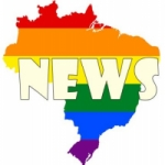 Logo da emissora Rádio LGBT