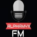 Logo da emissora Alphamyx