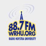 Logo da emissora WRHU 88.7 FM
