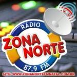 Logo da emissora Zona Norte FM
