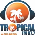 Logo da emissora Rádio Tropical 97.7 FM