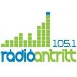 Logo da emissora Antritt 105.1 FM