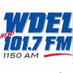 Logo da emissora Radio WDEL 101.7 FM 1150 AM