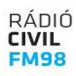 Logo da emissora Civil Radio 98 FM