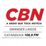 Logo da emissora Rádio CBN Grandes Lagos 106.9 FM