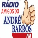 Logo da emissora FM Amigos do André Barros