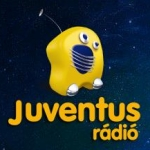 Logo da emissora Juventus Budapest 89.5 FM