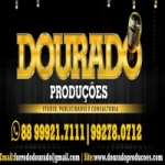 Logo da emissora Rádio Dourado Produções