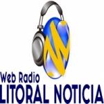 Logo da emissora Web Litoral Noticia