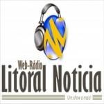 Logo da emissora Web Rádio Litoral Noticias FM