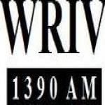 Logo da emissora WRIV 1390 AM