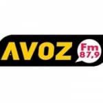 Logo da emissora Rádio A Voz 87.9 FM