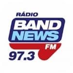 Logo da emissora Rádio Band News 97.3 FM