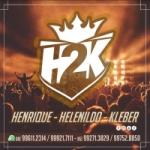Logo da emissora Rádio H2K