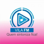 Logo da emissora Vila FM