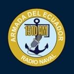 Logo da emissora Radio Naval 1510 AM