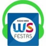 Logo da emissora Rádio WS Festas