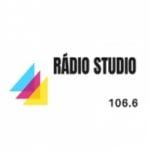Logo da emissora Rádio Studio 106.6