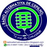 Logo da emissora Rádio Alternativa Cepilo