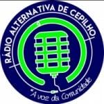 Logo da emissora Rádio Alternativa Cepilho