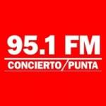 Logo da emissora Radio Concierto 95.1 FM