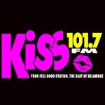 Logo da emissora WJKS 101.7 FM Kiss