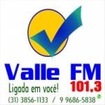 Logo da emissora Rádio Vale 101.3 FM