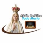 Logo da emissora Rádio Todo Maria