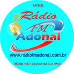 Logo da emissora Rádio Adonai Três Lagoas