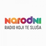 Logo da emissora Radio Narodni 107.5 FM