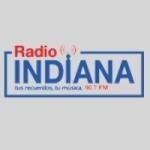 Logo da emissora Radio Indiana 90.7 FM