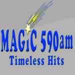 Logo da emissora WROW 590 AM
