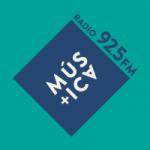 Logo da emissora Radio Mas Música 92.5 FM
