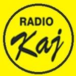 Logo da emissora Radio Kaj 99.7 FM