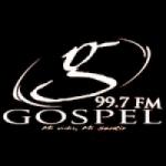 Logo da emissora Radio Gospel 99.7 FM