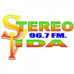 Logo da emissora Radio Stereo Vida 96.7 FM