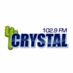 Logo da emissora Radio Crystal 102.9 FM