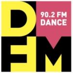 Logo da emissora Radio DFM Dinamit 90.2 FM