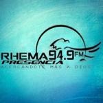 Logo da emissora Radio Rhema Presencia 94.9 FM