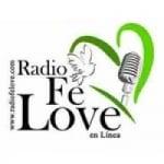 Logo da emissora Radio Fé Love 1000 AM