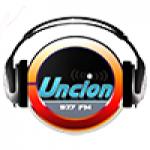 Logo da emissora Radio Unción Stéreo 97.7 FM