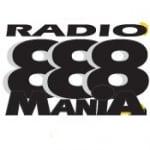 Logo da emissora Radio Mania 88.8 FM