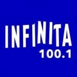 Logo da emissora Radio Infinita 100.1 FM