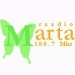 Logo da emissora Radio Marta 100.7 FM