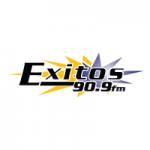 Logo da emissora Radio Éxitos 90.9 FM