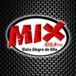 Logo da emissora Rádio Mix 105.9 FM
