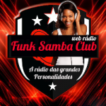 Logo da emissora Rádio Funk Samba Club