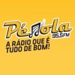 Logo da emissora Rádio Pérola 95.5 FM