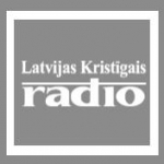 Logo da emissora Latvijas Kristigais Radio 101.8 FM